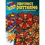 3-D Coloring Book - Abstract Patterns