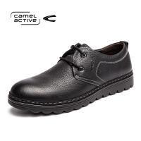 Camel Active/骆驼动感男鞋头层牛皮休闲鞋软底舒适父亲爸爸鞋子