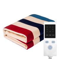 【好货优选】嘉若彤 电热毯水暖条纹特大号舒适调温理疗加热毯安全用毯 条纹特大 200*180cm