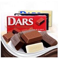 【当当海外购】日本进口森永达诗DARS 黑巧克力/牛奶巧克力 42g(12粒)*3盒