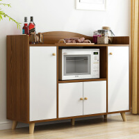 【限时直降3折】现代简约餐边柜多功能储物柜子带门北欧简易厨房经济型柜子