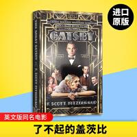 了不起的盖茨比 英文版原版 The Great Gatsby 电影版同名原著小说 经典美国文学 菲茨杰拉德 进口英语书籍