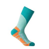 户外厚运动滑雪袜 长筒 登山徒步袜子女骑行保暖透气速干袜