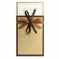 生日卡商务定制贺卡员工金色简约红色欧式个性创意祝福感谢卡