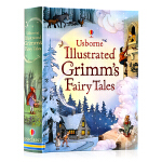 英文原版 Usborne Illustrated Grimm's Fairy Tales 精装插画版 格林童话故事书