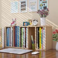 老睢坊 创意学生桌上书架置物架简易组合儿童桌面小书架迷你收纳柜小书柜卧室客厅白色储物架