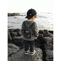 男童卫衣秋装婴儿小宝宝长袖卫衣潮后背小书包