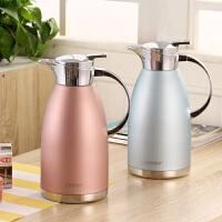 不锈钢保温壶家用欧式保温瓶大号容量热水瓶暖水壶暖壶暖瓶2l
