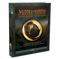 指环王电影艺术设定画册 英文原版 Middle-earth From Script to Screen 英文版中土世界
