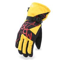 男女冬季保暖棉厚防寒手套防水防风滑雪骑车手套加绒摩托车手套