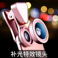Liweek 手机单反镜头 补光镜头 iphone7 7plus镜头 6s手机镜头 自拍 广角微距套装单反外置补光美颜
