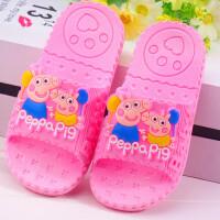 小孩拖鞋夏男童女童防滑浴室居家宝宝凉拖可爱卡通室内儿童凉拖鞋