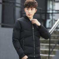 2018冬装棉衣男韩版短款加厚棒球领棉袄青年羽绒男士外套