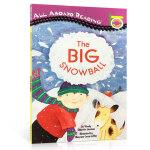 【顺丰包邮】英文进口原版绘本 All Aboard Reading The Big Snowball 大雪球汪培�E私房