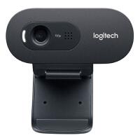 【支持当当礼卡】罗技C270i 高清网络直播摄像头 USB电脑笔记本台式机摄像头 免驱内置麦克风