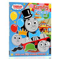 英文原版绘本Thomas and Friends托马斯和他的朋友们系列Thomas the Tank Engine F