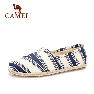 骆驼牌男鞋 低帮帆布鞋男平跟时尚休闲鞋潮鞋平底舒适单鞋
