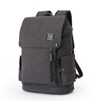 男生书包大学生高中生尼龙双肩包男书包休闲学生大容量男士背包旅行包