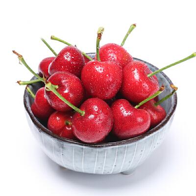 烟台美早大樱桃24-28mm  4斤装脆甜可口 肉厚汁多 现摘现发 顺丰包邮