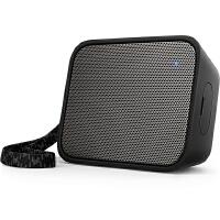 飞利浦(PHILIPS)BT110B 音乐魔盒 蓝牙音箱 防水便携迷你音响 手机/电脑外响 低音炮 户外运动 免提通话