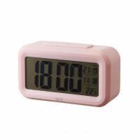 晨光闹钟 数显感应闹钟 床头电子座钟 创意懒人叫醒表 C92509单个 颜色随机