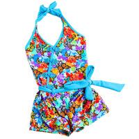 儿童泳衣女童连体宝宝大小童女孩游泳衣