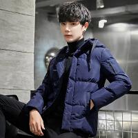 棉衣男冬季2018新款棉服韩版修身潮流帅气加厚棉袄子冬装外套