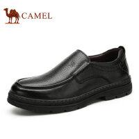 【领券下单立减111元】camel 骆驼男鞋秋季新款商务正装皮鞋 套脚舒适男士皮鞋