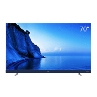 TCL 70A950U 70英寸34核人工智能 纤薄金属机身HDR4K电视机(银色)
