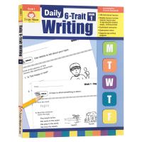 每日练习系列 系统写作一年级 完整版 英文原版 Daily 6 Trait Writing Grade 1 Teache