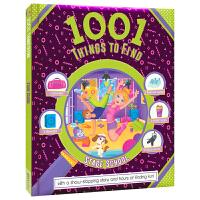 1001 Things To Find Stage School 校舞台 找找乐专注力训练 儿童英文原版进口图书