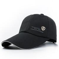 帽子 鸭舌帽春夏男士棒球帽遮阳防晒透气女士休闲帽钓鱼加长帽檐