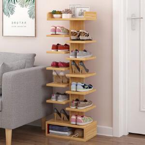 鞋架 家用经济型简约现代防尘鞋柜多层省空间门口鞋架子大容量置物架储物柜鞋柜
