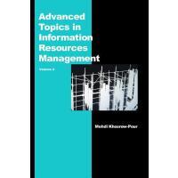 【预订】Advanced Topics in Information Resources Management, Vol