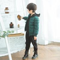 冬季儿童棉衣短款棒球棉服外套