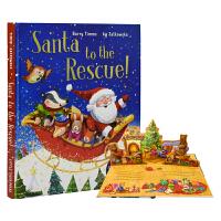 Santa To the Rescue! 圣诞老人大拯救!立体翻翻机关圣诞节