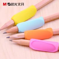握笔器矫正器小学生幼儿童铅笔写字用笔套 握笔姿势矫正学生文具 (4卡装)