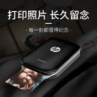 【当当自营】惠普/HP 小印sprocket手机便携式口袋照片打印机蓝牙家用迷你相片冲印(黑色)