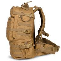 户外登山包多功能双肩背包男女防水驴友徒步旅行包50L大容量 支持礼品卡支付