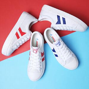 领舞者学生帆布鞋 时尚休闲运动韩版女生小白鞋