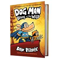 Dog Man 6 Brawl of the Wild 神探狗狗的冒险6 新故事 野地之战 儿童漫画章节书 精装全彩