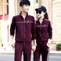 男士运动套装 情侣运动服新款男装运动衣两件套青年卫衣