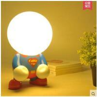 可爱高亮耐用便携小夜灯卧室充电床头灯USB卡通动漫节能小台灯