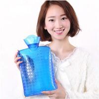 大号充水热水袋暖宫暖腰注水灌水暖水袋 pvc橡胶暖手宝