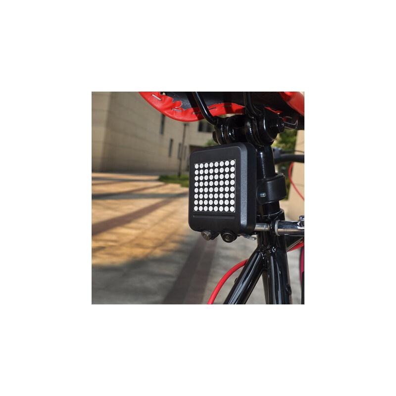 山地车自行车智能激光尾灯转向灯刹车灯骑行装备单车配件 品质保证 售后无忧 支持货到付款