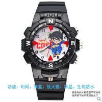 韩版手表 触屏智能男女童款名侦探柯南手表防水夜光中小学生表男孩女孩男童卡通石英儿童手表