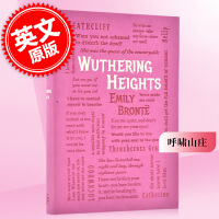 现货 呼啸山庄 英文原版 Wuthering Heights ( Word Cloud Classics ) 艾米莉・
