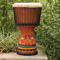 奇宝居 非洲鼓特级13寸大师鼓印尼进口山羊皮非洲手鼓大师鼓