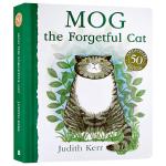爱忘事儿的小猫格格 Mog the Forgetful Cat 健忘的小猫格格 英文原版纸板书 可搭老虎来喝下午茶Ju
