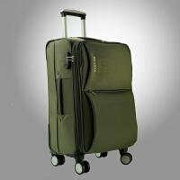 学生万向轮拉杆箱女牛津布24英寸旅行软包22男行李箱28帆布登机箱子